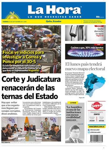 Quito 21 de septiembre de 2018 by Diario La Hora Ecuador - issuu f82ece907a