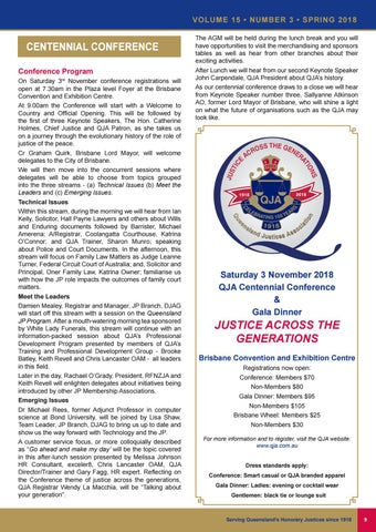 Page 9 of QJA Celebrates 100 Years