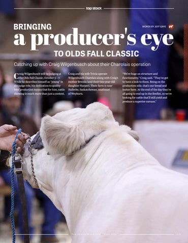 Page 19 of Bringing a Producer's Eye to Olds Fall Classic