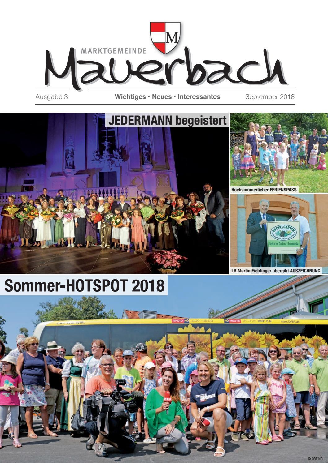 Singles Mauerbach, Kontaktanzeigen aus Mauerbach bei