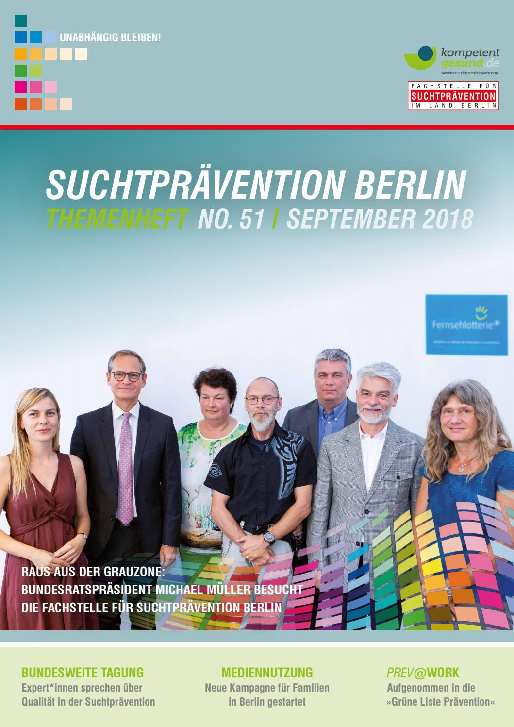 Fachstelle Für Suchtprävention Berlin