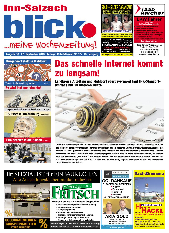 Inn Salzach Blick Ausgabe 38 2018 By Blickpunkt Verlag Issuu