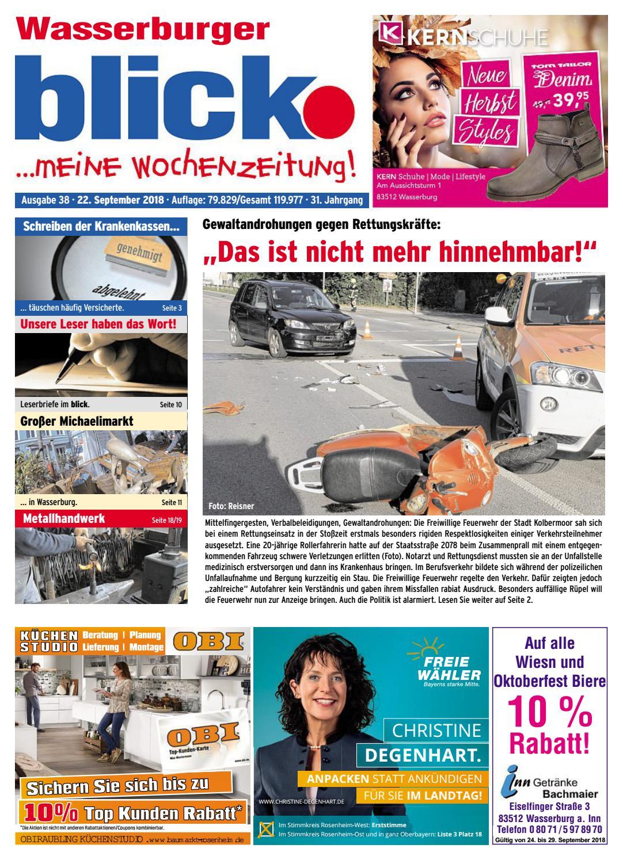 Wasserburger blick - Ausgabe 38 | 2018 by Blickpunkt Verlag - issuu