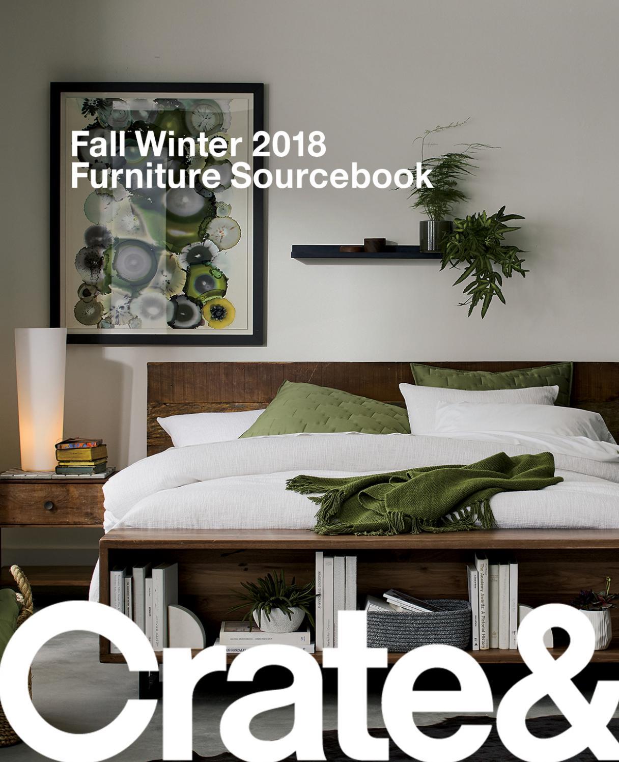 Crate and barrel fall winter 2018 furniture sourcebook
