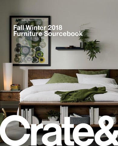364e5308f27697 Crate and Barrel Fall Winter 2018 Furniture Sourcebook by Crate and ...