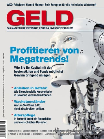 Geld Magazin September 2018 By 4profit Verlag Gmbh Issuu