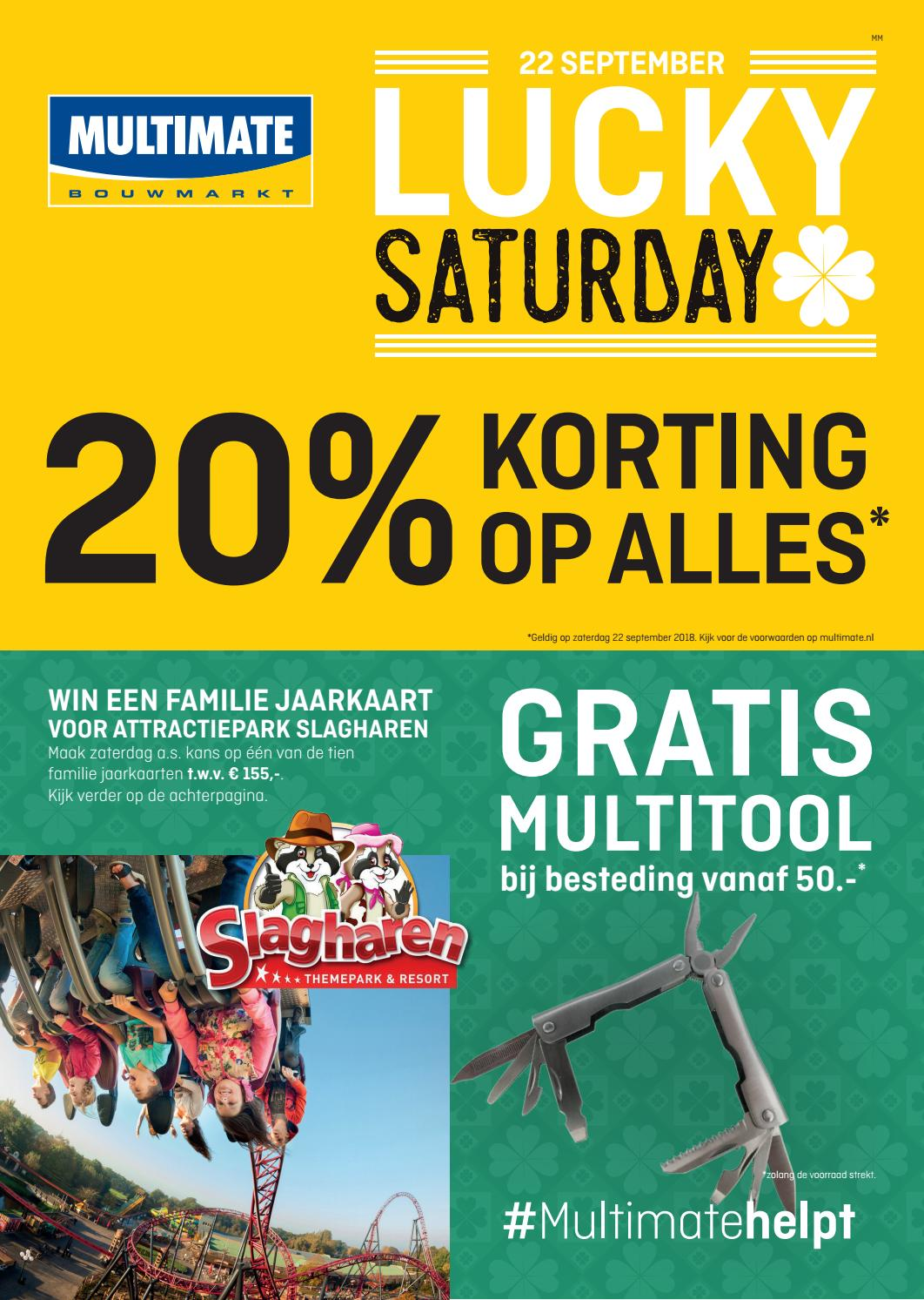 Multimate Lucky Saturday 297x420 Hr By Multimate Gorredijk