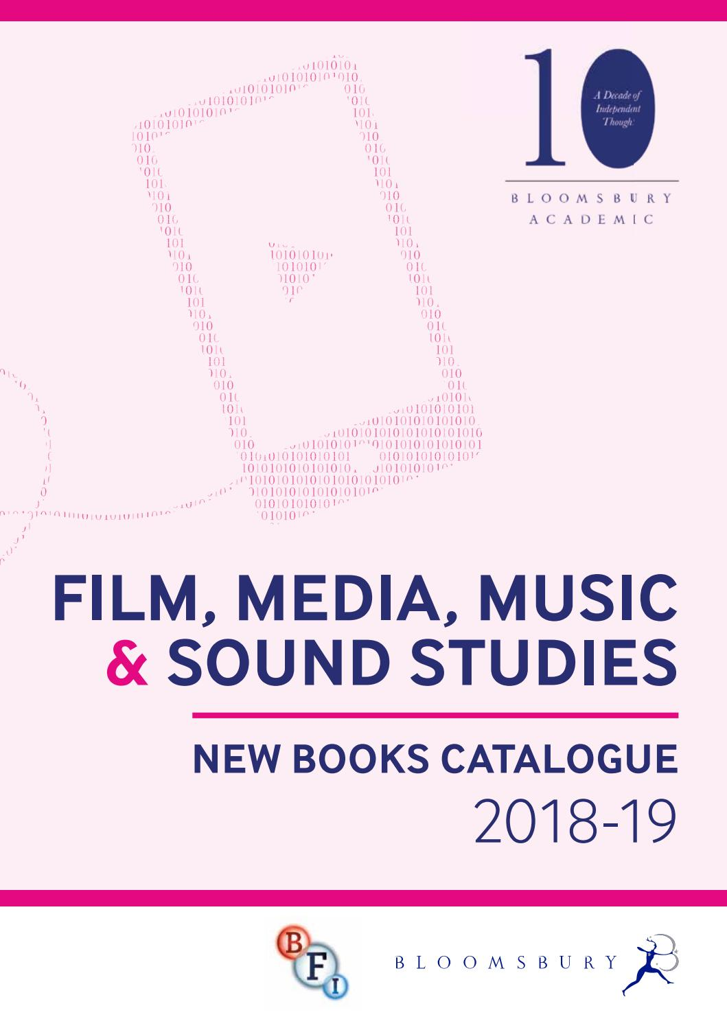 Film, Media, Music & Sound Studies Catalogue 2018-19 by
