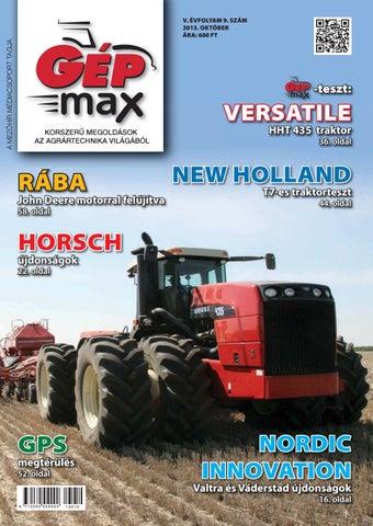 86c33ad45b Gépmax 2013. Október by Horizont Média Kft. - issuu
