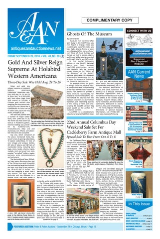 84365556645 Antiques   Auction News 092818 by Antiques   Auction News - issuu