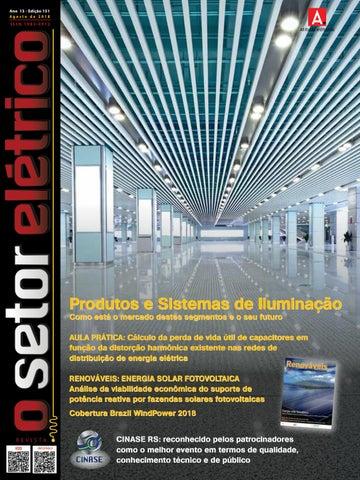 b529d9c06 O Setor Elétrico (edição 151 - Ago 2018) by Revista O Setor Elétrico ...