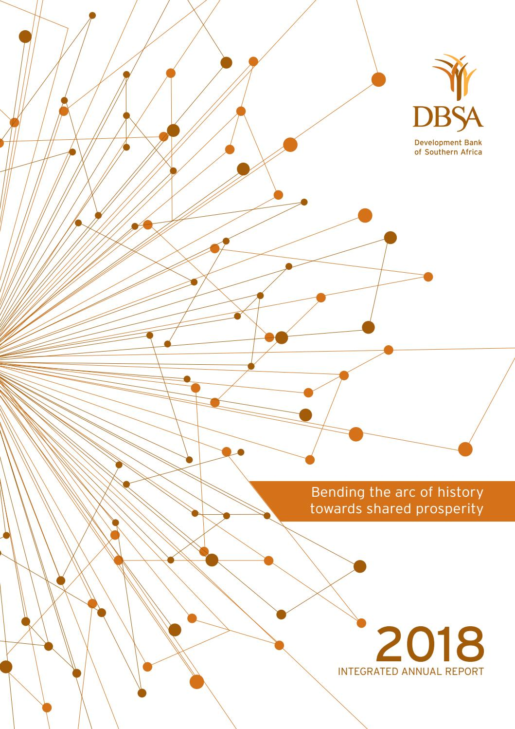 DBSA Integrated Annual Report 2017/18 by Development Bank of