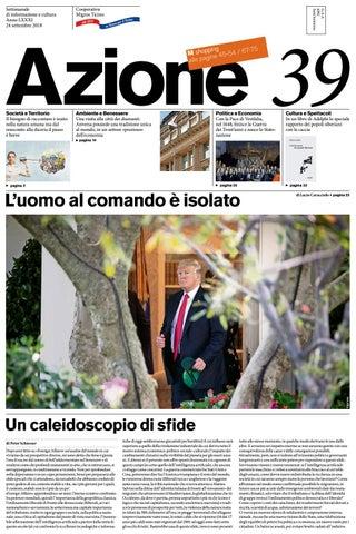 e144fa51f5 Azione 39 del 24 settembre 2018 by Azione, Settimanale di Migros ...