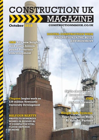 ccef79f6bdcb Construction UK Magazine - October 2018 by Lapthorn Media - issuu