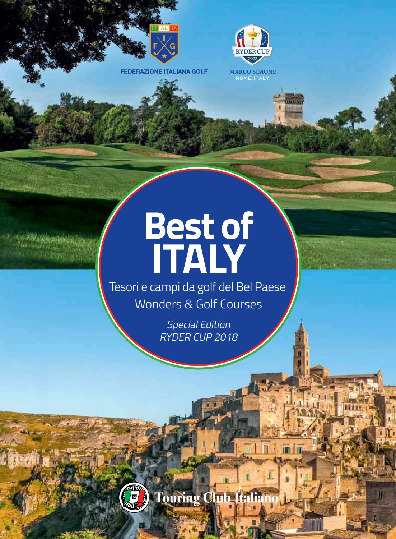 Best Of Italy Tesori E Campi Da Golf Del Bel Paese