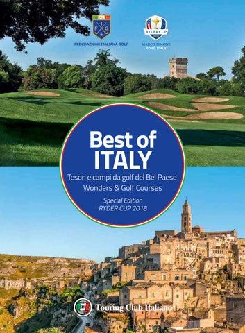 Best of Italy - Tesori e campi da golf del Bel Paese   Wonders ... 58f41bfa63fa