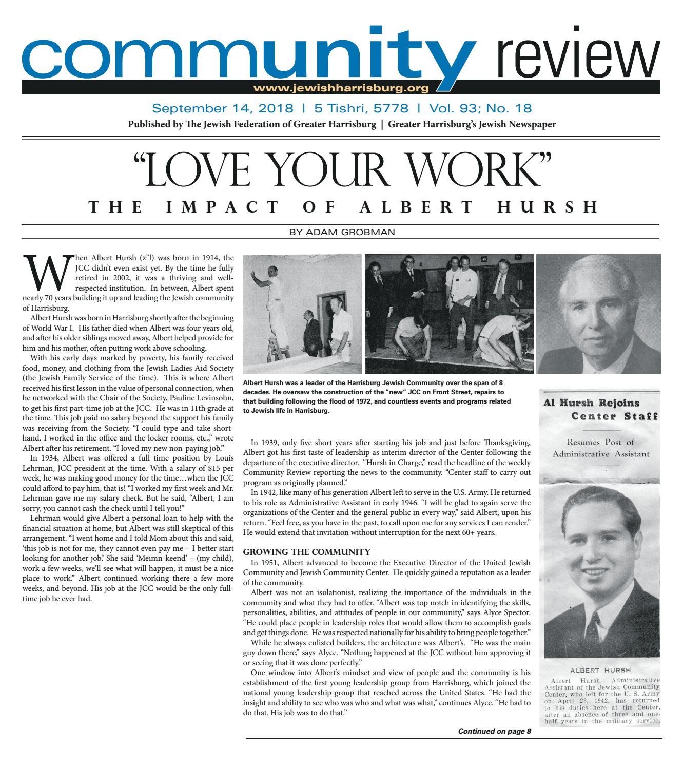Visions Of Community 2015 Federation >> Community Review September 14th 2018 By Beth Issuu