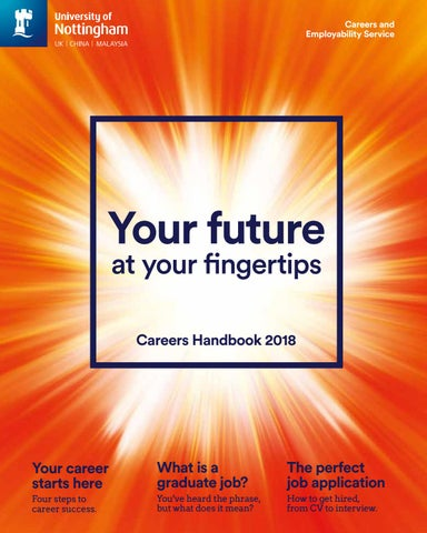 7e3c3debf Careers Handbook 2018 by Jackie Thompson - issuu