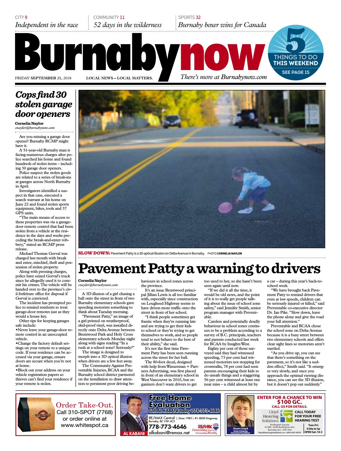 Burnaby Now September 21 2018 By Burnaby Now Issuu