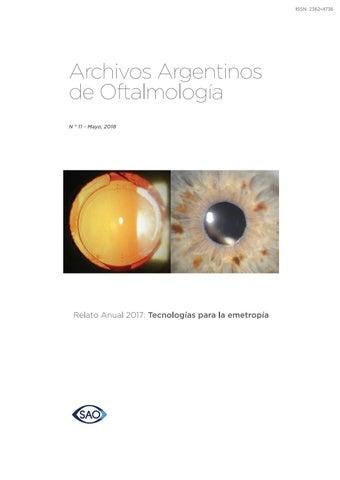 b81ade25fb13e Revistar Archivos de Oftalmología Nº 11 by saoftalmologia - issuu