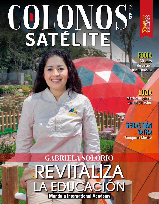 8fa567e1e9fc3 Colonos Satélite Septiembre 2018 by Grupo Internacional Editorial - issuu