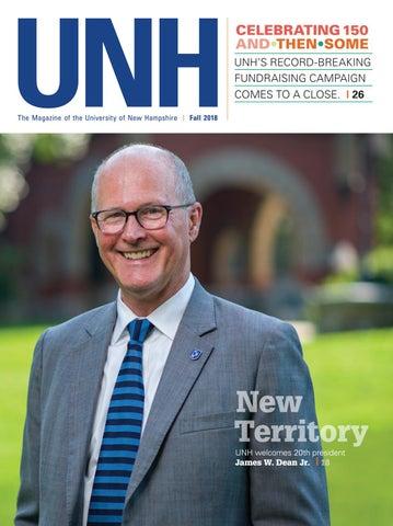 Unh Magazine Fall 2018 By University Of New Hampshire Issuu