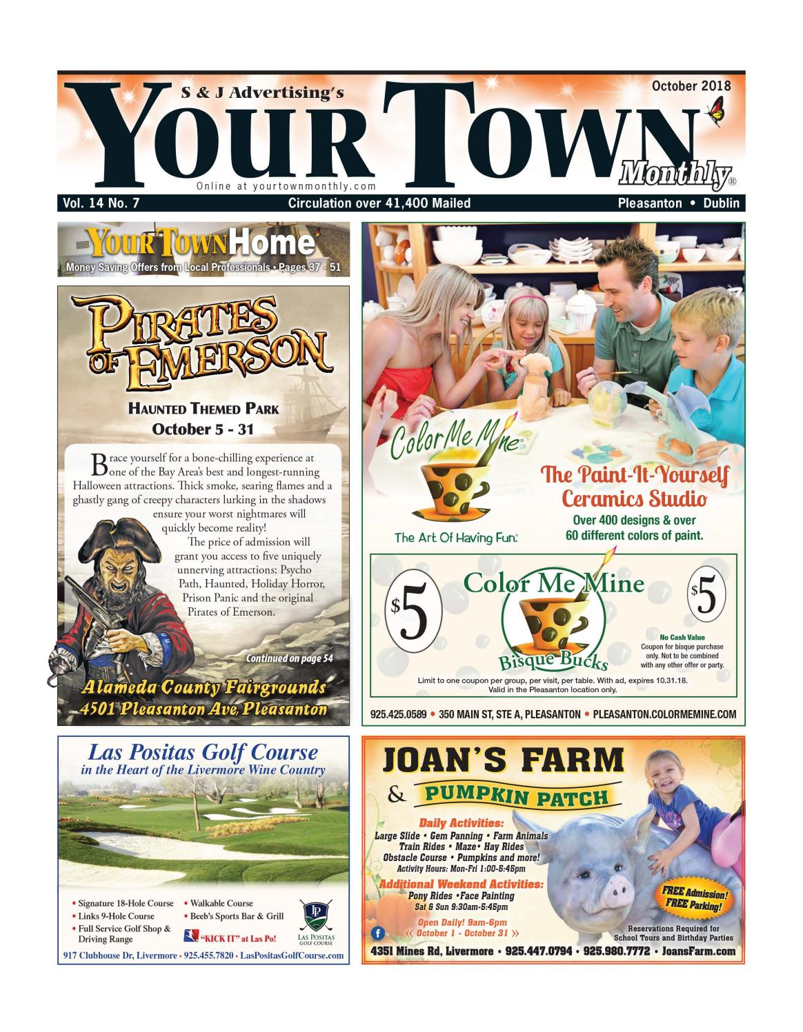 Your Town Monthly: Pleasanton/Dublin September 2018 by Your
