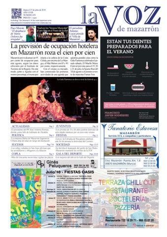 Voz459 by La Voz de Mazarrón (Periódico) - issuu 4933fb892c4