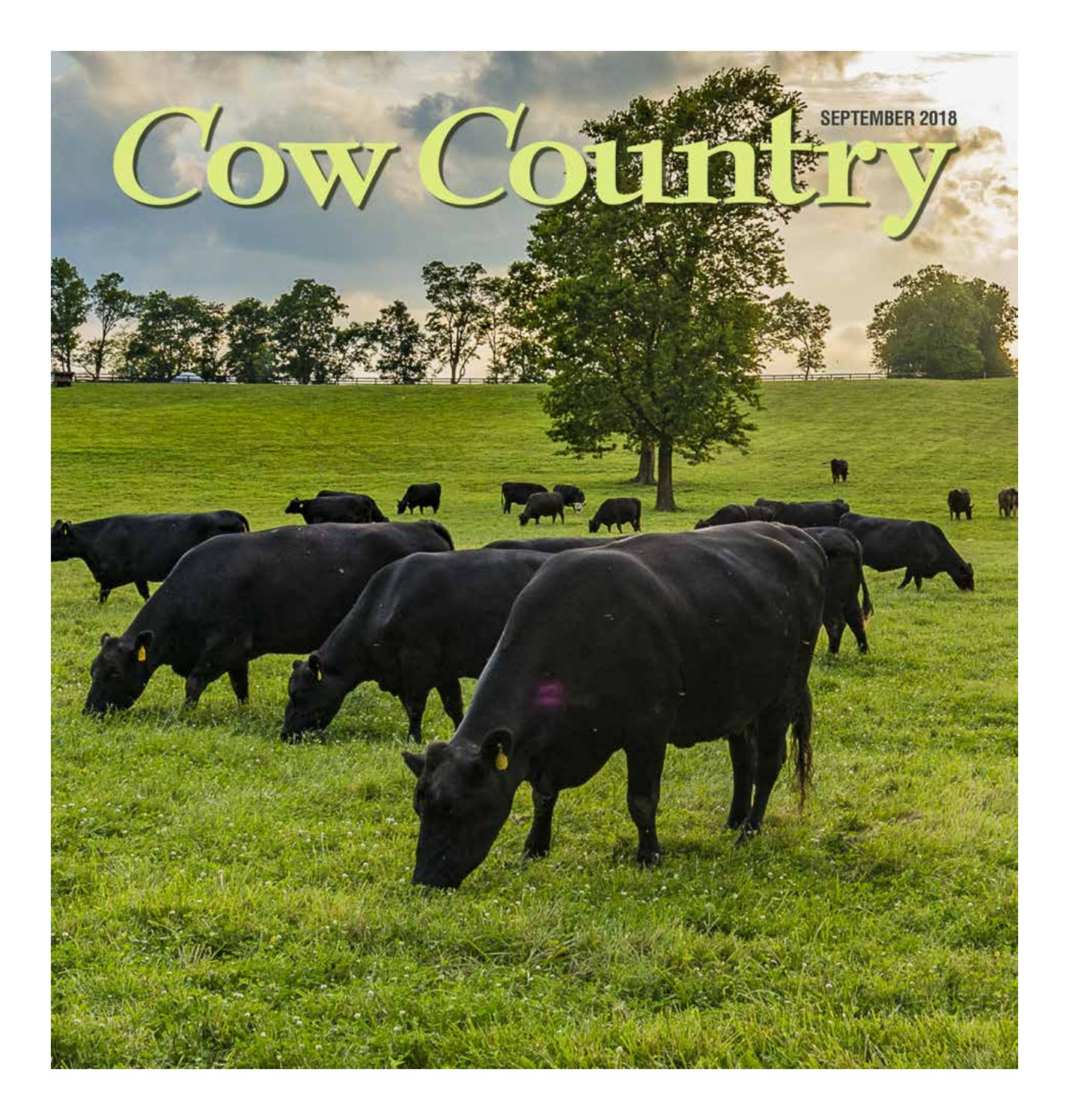 Cow country news september 2018