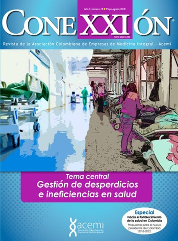 6b5bc4a90 Revista No. 18 - Gestión de Desperdicios e ineficiencias en salud by ...