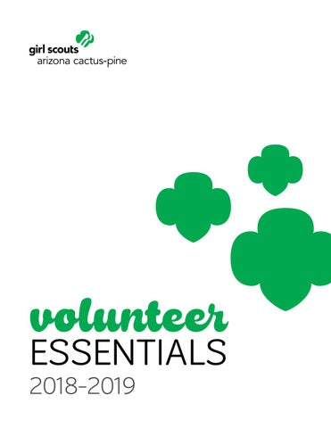 49caf10a688b GSACPC Volunteer Essentials 2018-19 by Girl Scouts–Arizona Cactus ...
