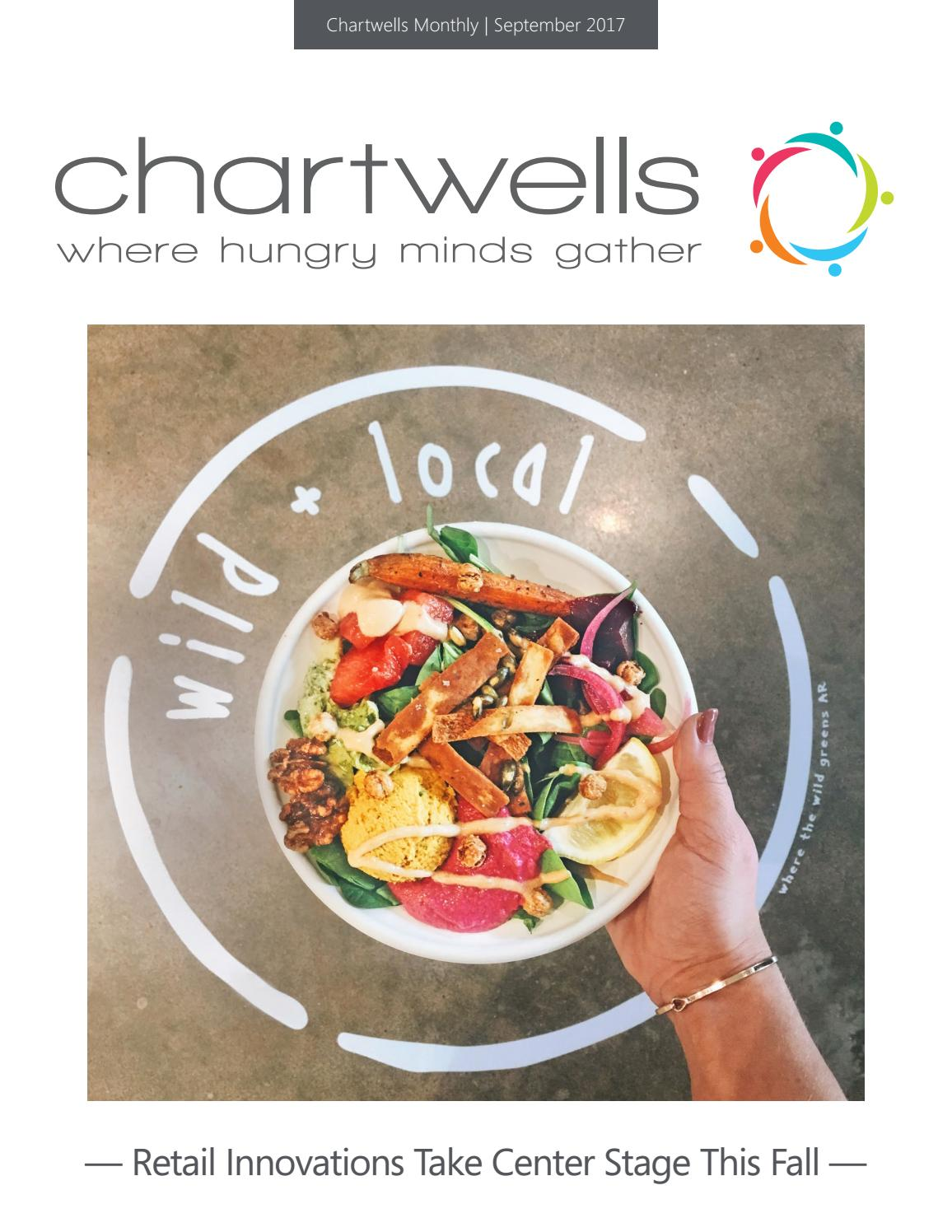 September 2017 Chartwells Monthly by Chartwells Higher ...