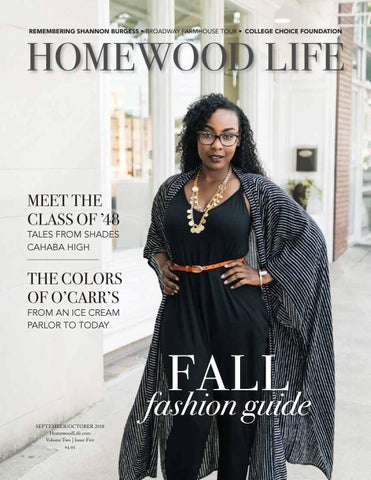 Homewood Life Septemberoctober 2018 By Shelby County Newspapers