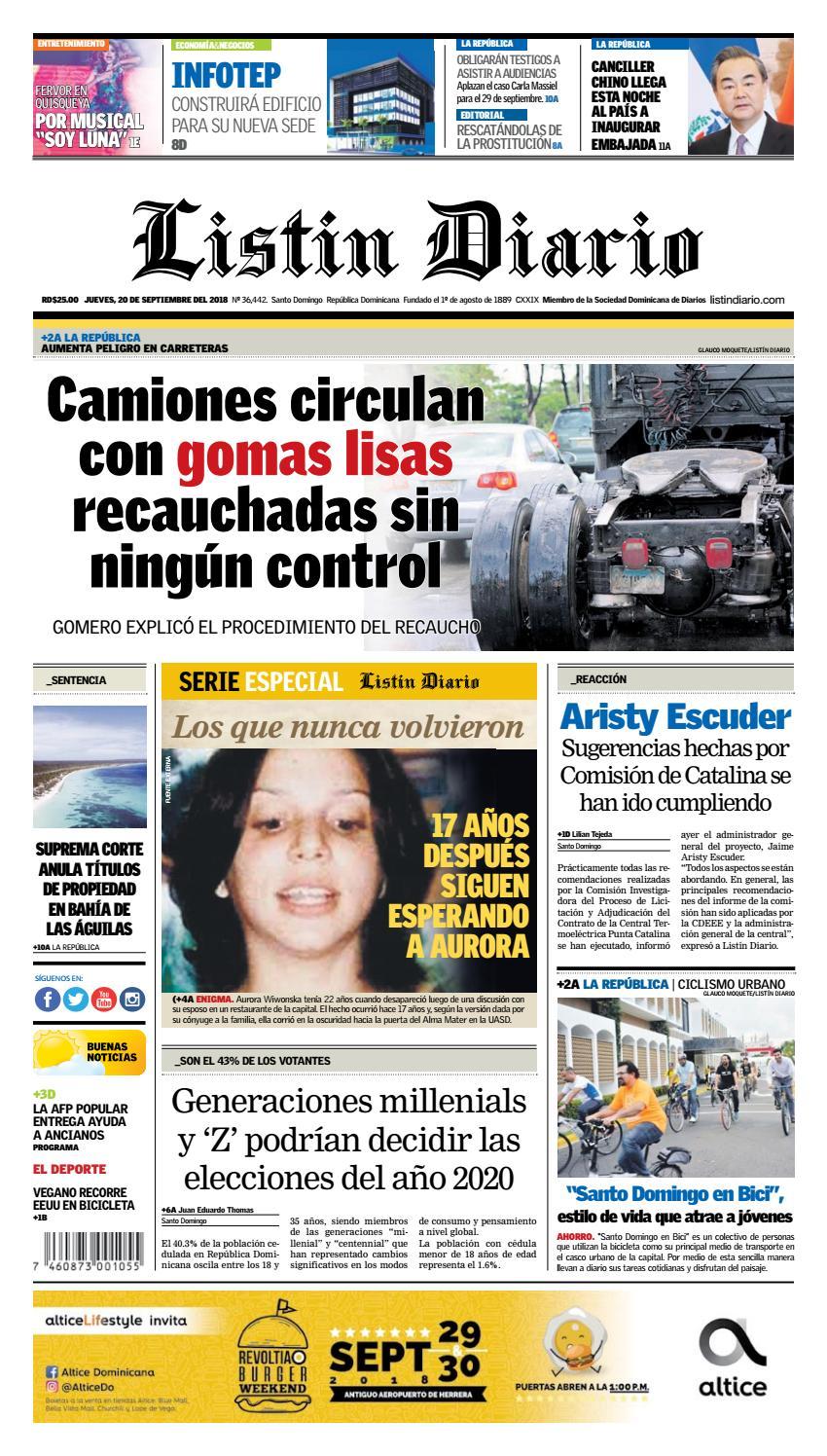 Ld 20 09 2018 By Listín Diario Issuu