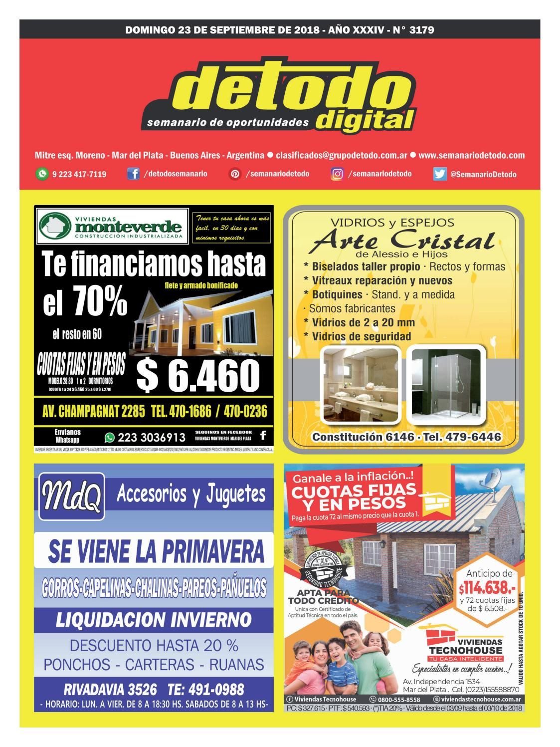 279e90335a5f Semanario Detodo - Edición N° 3179 - 23 09 2018 by Semanario Detodo - issuu