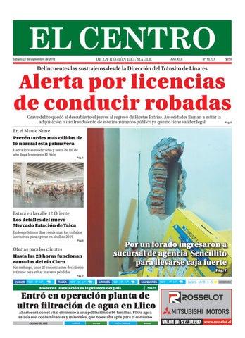 Diario 30-09-2018 by Diario El Centro S.A - issuu 1d200e8b8a7eb