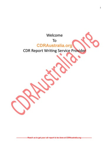 Sample CDR for Mechanical Engineer PDF by Andrew Robert - issuu