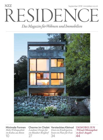 Residence September 2018 By Nzz Residence Issuu