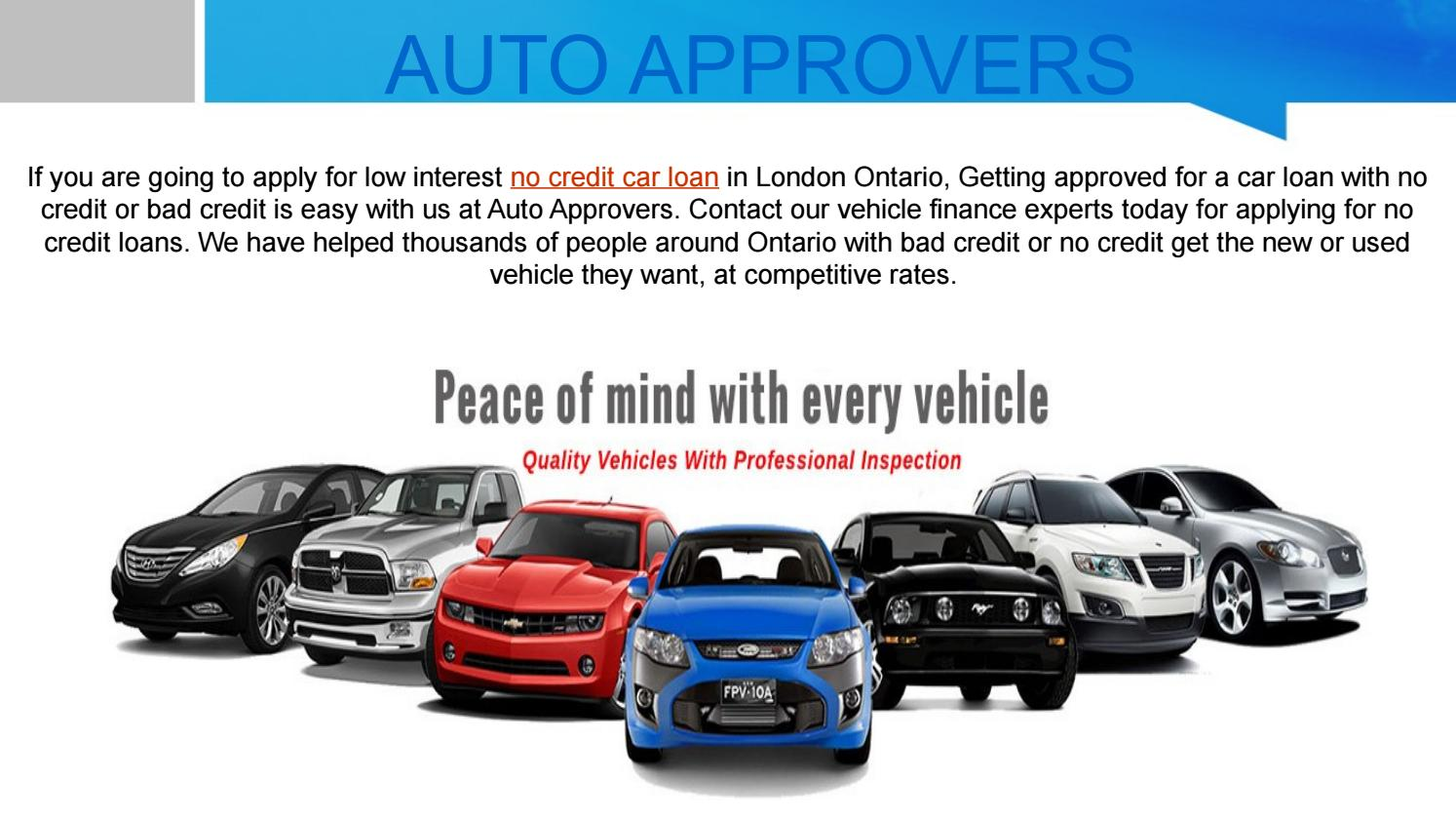 No Credit Car Dealerships >> Car Loan No Credit By Auto Approvers Issuu