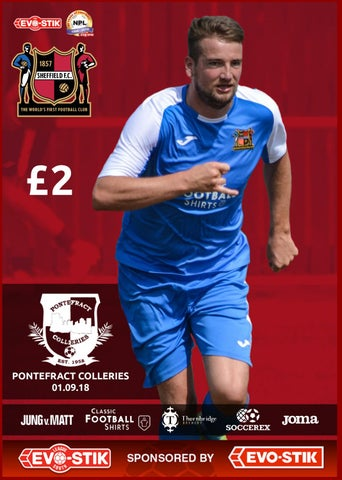 da29d11b1e7638 Sheffield FC v Ponrtefract Collieries by Sheffield FC - issuu