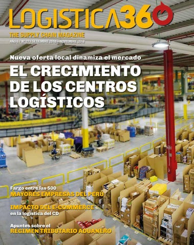 56fa1546e Edición 27 by Logistica 360 The Supply Chain Magazine - issuu