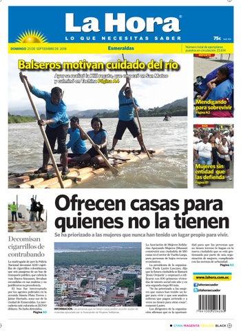 6c64b97a12 Esmeraldas 23 de septiembre del 2018 by Diario La Hora Ecuador - issuu