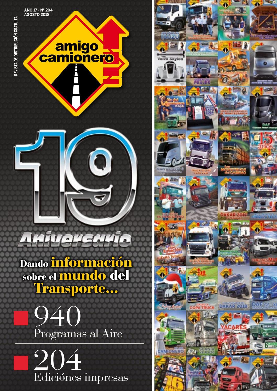 Nº 17 By 204 Issuu Camionero 2018 Año Amigo Agosto 6Iyv7fgYb