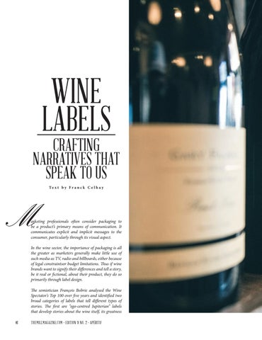 Page 46 of Wine Labels - Crafting Narratives That Speak To Us