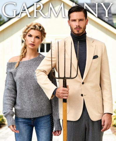 90d10d8c7c1 Garmany  Fall Winter 2018 by Wainscot Media - issuu