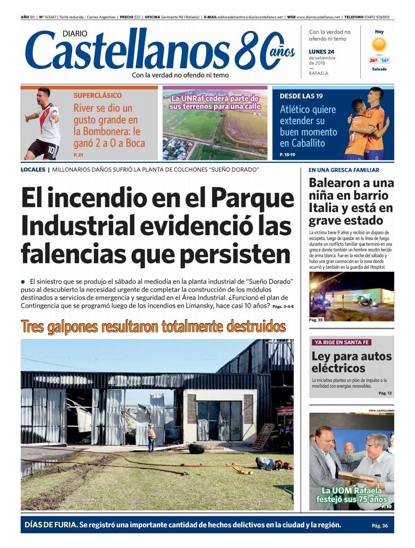 Diario Castellanos 24 09 18 By Diario Castellanos Issuu