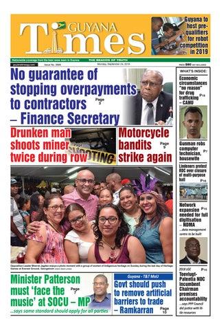 Guyana Times September 24, 2018