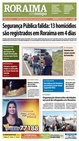 f9e10b0e1e80a Jornal Roraima em tempo – edição 1041 by RoraimaEmTempo - issuu