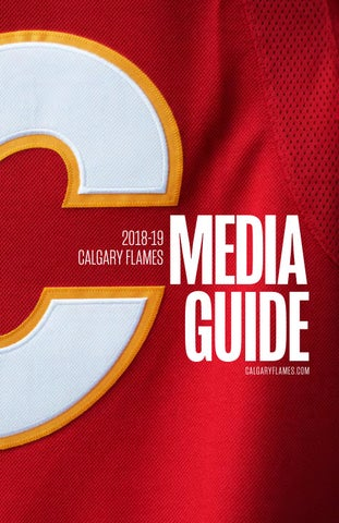 6e8c472d9 2018-19 Calgary Flames Media Guide by calgaryflames - issuu