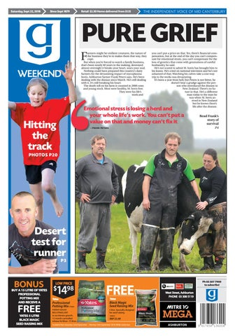 Ashburton Guardian, Saturday, September 22, 2018